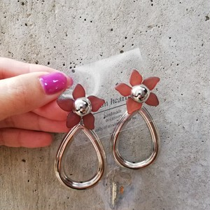 brownflower❁silver accessory