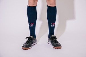 ONE-S0104 SIMPLE LOGO SOX(NAVY)