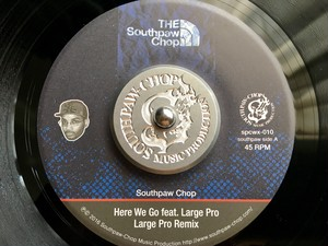 Southpaw Chop Music Pro original 45 Adapter