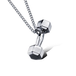 THE  DUMBBELL PENDANT (SILVER)