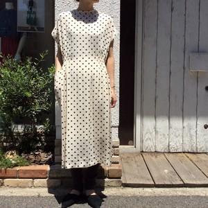HOOCHIE COOCHIE/ドット柄ロングワンピース