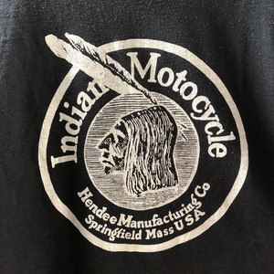 90's Indian Motorcycle T-Shirts インディアン モーターサイクル Tシャツ(L)