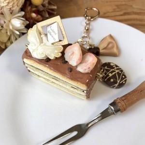チョコレートミルフィーユチャーム