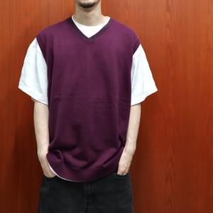 BANANA REPUBLIC cotton knit vest