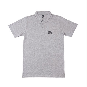 OUR LIFE - STACKED BARREL POLO (Gray)