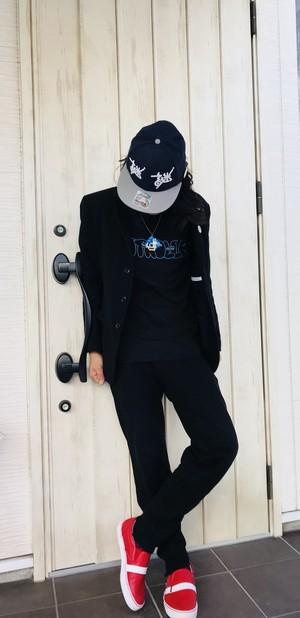 CONTROLLER / コントローラー ロゴ Tシャツ (ブラック)