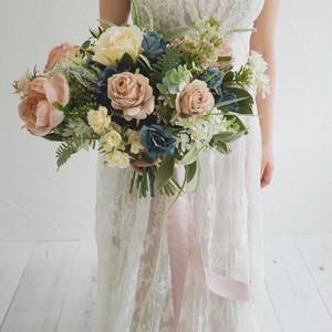 【Rental7泊8日】french antique bouquet & boutonniere