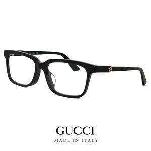 GUCCI グッチ レディース メガネ ウェリントン型 gg0557oj 001 眼鏡 ジャパン アジアンフィットモデル