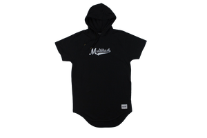 HOODIE T-shirt 【BLACK】