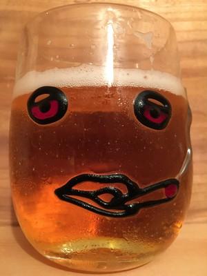 麻炭ガラス『パーリーピーポー1 ウイスキーグラス』