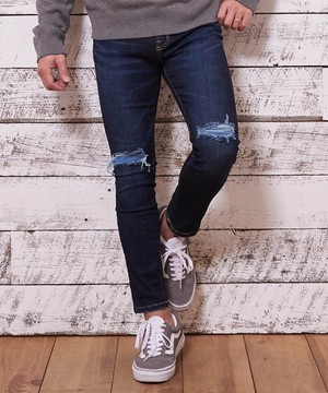 VINTAGE REMAKE SUPER SKINNY DENIM [REP039]
