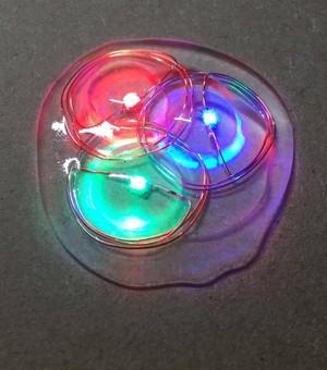 非接触給電LED(3色チップ形状)