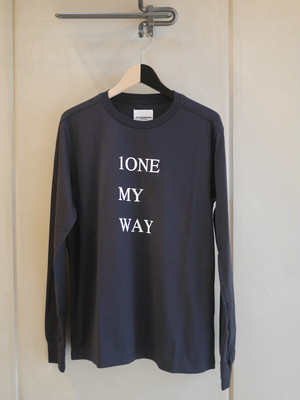 TAKAHIROMIYASHITATheSoloist. / 1ONE MY WAY (long sleeve / NAVY)