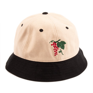 PASS~PORT LIFE OF LEISURE BUCKET HAT NATURAL/BLACK