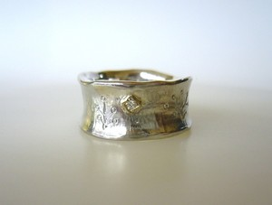 Silver Forest Ring 1
