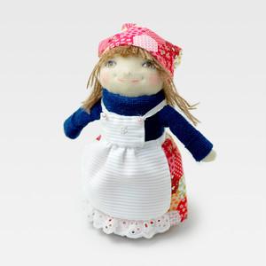 立ち人形 女の子 エプロン sh-0010