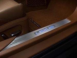 Lexus LC 500/500h Illuminated Door Sill Set