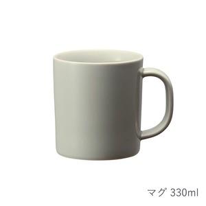 西海陶器 波佐見焼 「コモン」 マグ 330ml グレー 13258