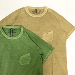 "Nigel Cabourn / NEW BASIC T-SHIRT ""PIGMENT"""