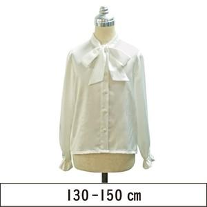 リボン襟ブラウス 130-150