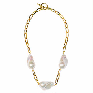 【Sクラス】baroque pearl combination necklace