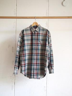 USED / L.L. Bean, Check shirts