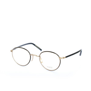 ayame:アヤメ 《SIPPOU -シッポウ Col.BLK》眼鏡 ボストン