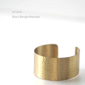 真鍮 バングル ブレスレットゴールドA 58010023-02 un jour...(アンジュール)