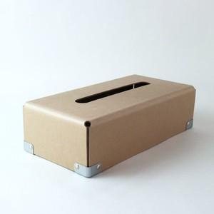 concrete craft (コンクリートクラフト)BENT Tissue box クラフト W12,5 × D25 × H7cm パスコ ティッシュボックス 収納 Craft One