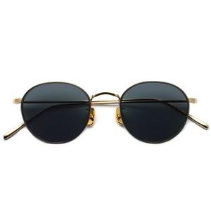 A.D.S.R. / BUKEM02(a) ブケム / Gold - Black Lenses ゴールド-ブラックレンズ(ダークグレー) ラウンドメタル ボストン サングラス