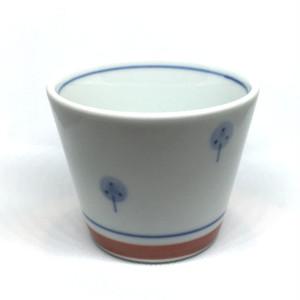 【砥部焼/梅山窯】蕎麦猪口(たんぽぽ)