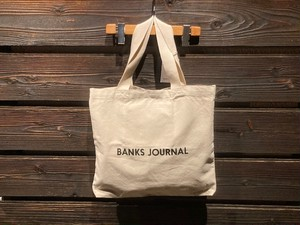 Banks Journal Label Tote Bag BA0002  Off White