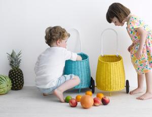 olliella(オリエラ)Luggy  Basket(yellow)