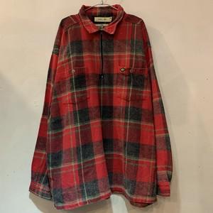 90s QUIK SILVER クイックシルバー ハーフジップシャツ QSDライン チェック L