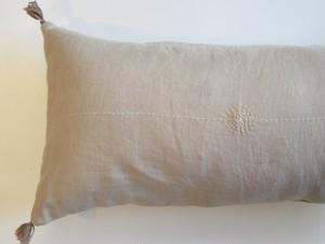 linen刺繍cushioncoverGB横長