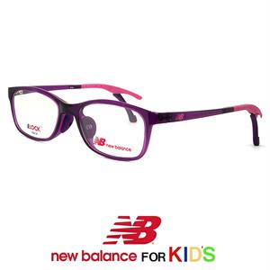 子供用 ニューバランス メガネ nb09077-4 New Balance 眼鏡 レディース 女の子 new balance 小学校低学年 キッズ