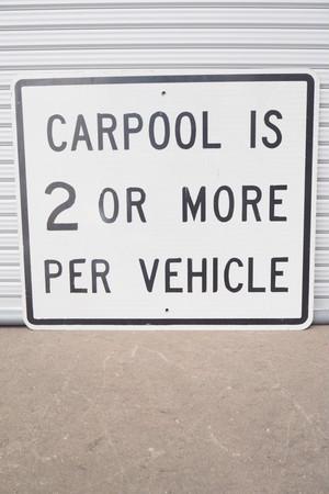 品番K-083  CARPOOL~ 看板