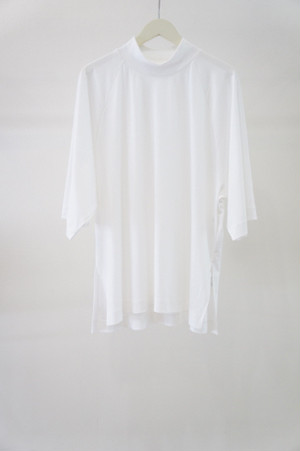 highneck knit -WHITE- / VUy
