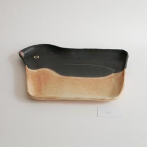 つぐみ製陶所 大皿 アデリーペンギン