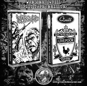 WARSORE:QUILL/split tape