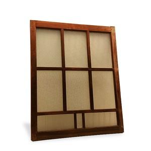 【古い建具 木枠引き窓 (A)】