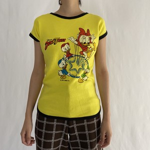 80's Walt Disney | DUCK TALES trim tee