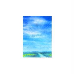 【選べるポストカード3枚セット】No.150 初夏の空