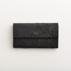 i ro se paper long wallet  black