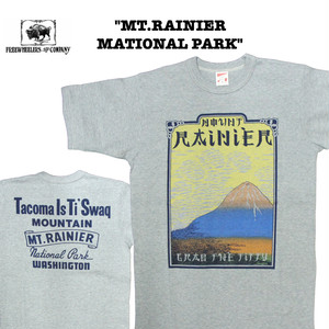 """MT.RAINIER NATIONAL PARK"" FREEWHEELERS/フリーホイーラーズ POWER WEAR Lot 1925009 Tシャツ / 半袖 / カットソー"