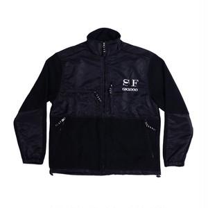 GX1000 SFGX Fleece Jacket Black ジーエックス 1000 フリースジャケット