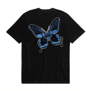 """ANDSUNS(アンドサンズ) """"SHIEETS BUTTERFLY EFFECT TEE"""" [BLACK]"""