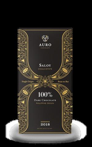 100%ダークチョコレート サロイ Reserve 2018(60g) #MU2020