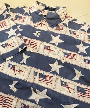 CHAPS RALPH LAUREN S/S Flag & Star Shirts L