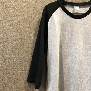 7分丈ラグランTシャツ
